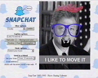 What Snapchat Was Like In the 1990s 😂😂😂