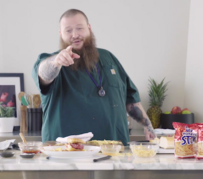 Action Bronson Makes The Ultimate Stoner Sandwich