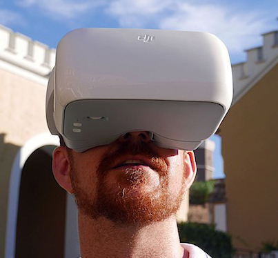DJI FPV Goggles: Control Your Drone By Moving Your Head