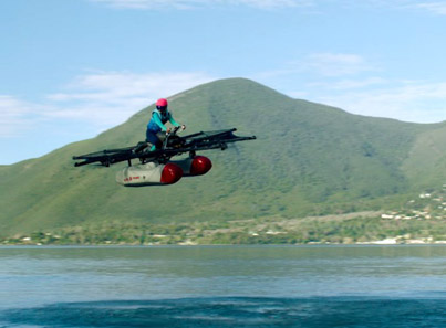 Google Co-Founder Larry Page's Dope New 'Flying Car'
