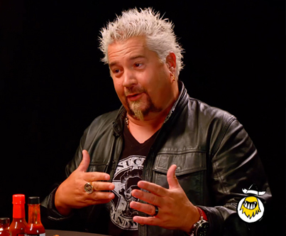 Guy Fieri Eats The World's Hottest Wings 🌶️🌶️🌶️