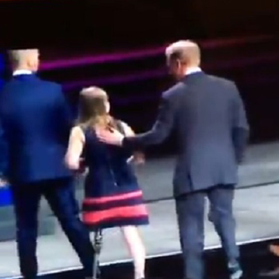 NFL Commissioner Caught Wiping Booger On One-Legged Girl Who Beat Cancer 😶