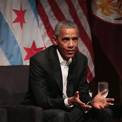 Obama's First Public Appearance Since Leaving Office 🇺🇸🇺🇸🇺🇸