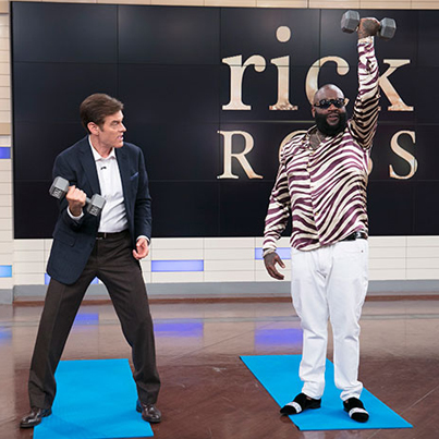 Rick Ross Talks To Dr. Oz About His Seizures 🍐🍐🍐