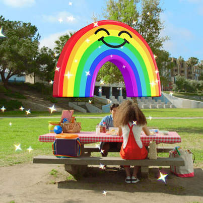Snapchat Enters Augmented Reality With World Lenses 👻👻👻