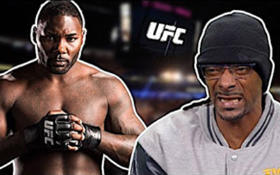 Snoop Dogg's Commentary On UFC Fighter Anthony Johnson's Most Vicious KO 😂😂😂