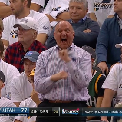 Steve Ballmer Takes Excited To New Levels 😂😂😂