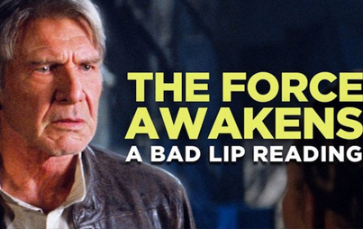 The Force Awakens: A Bad Lip Reading 😂😂😂