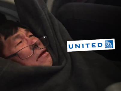 United Airlines Settles With Passenger For Savagely Dragging Him Off Flight