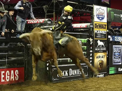 19-Year-Old Cowboy Made $117K For 32 Seconds Of Work