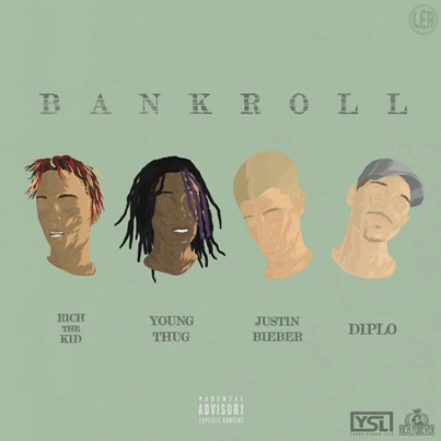 Bank Roll by Diplo x Rich The Kidd x Young Thug x Justin Bieber (Official Audio)