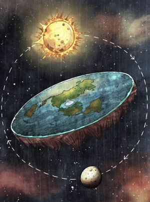 Conspiracy Theorist Claims Every Picture Of The Earth Is Fake 🤔🌎✨