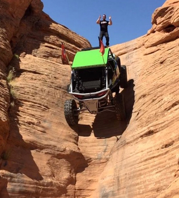 Dude F**ks Gravity Hard In The Anus With His Modified RZR