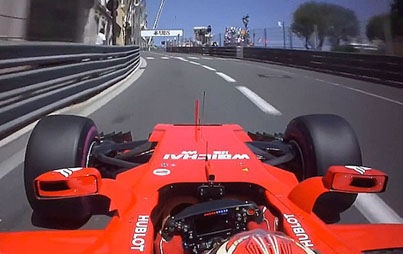 F1 Driver's Fast Pole-Winning Lap Of Monaco Is Scary Quick
