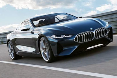 First Look At The BMW 8 Series Concept 🔥🔥🔥