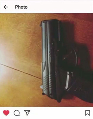 Student Suspended After 'Liking' Picture Of Gun On Instagram 😭😭😭