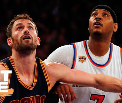 Stephen A. Smith: Cavs Should Trade Kevin Love For Carmelo Anthony 🤔🤔🤔