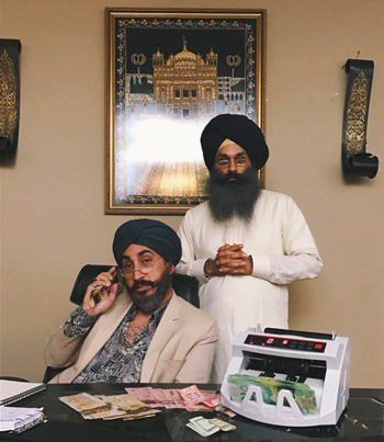 JUS REIGN: THE GURDWARA BO$$ (COMEDY SKETCH) 😂😭😂