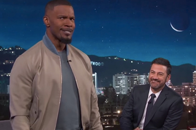 Jamie Foxx Impersonates LeBron James 😂😂😂