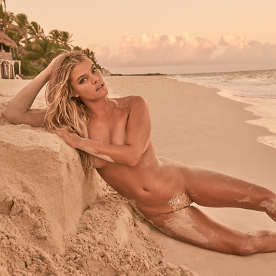 Nina Agdal Comes Dangerously Close To Violating Instagram's Nudity Policy 😲😘💘