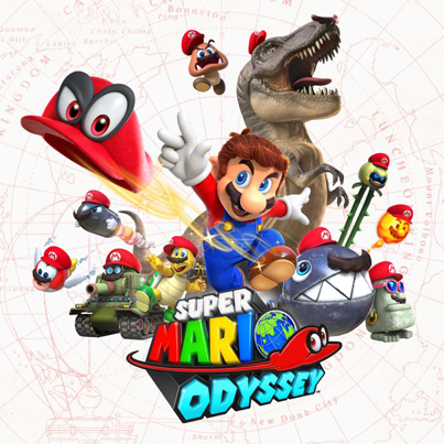 Super Mario Odyssey (Official E3 Video Game Trailer)