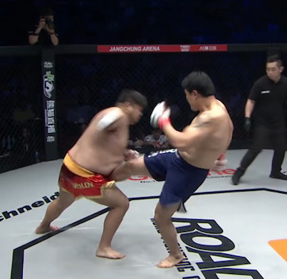 Testicle Popping Penis Kick Brings MMA Fighter To Tears 😭😭😭