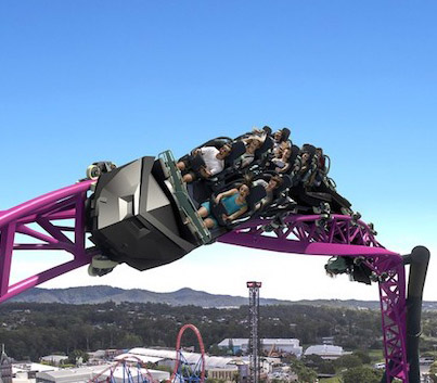 DC Rivals: The Largest Roller Coaster Ever Built In Australia