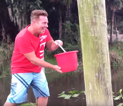 What The F**k Is Hiding In This Swamp Water? 😱😱😱