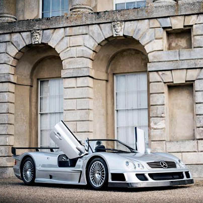 Filty Rich Man Drifts His $2.8M Mercedes CLK GTR AMG Roadster 🏎️💨💨💨