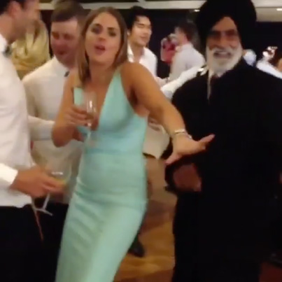 Hall Party Ting Tries To Catch A Bubble From An OG Baba 😳😇