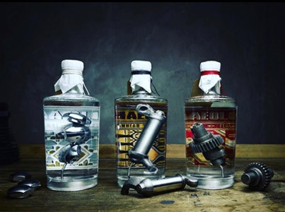 The World's First Dry Gin Infused With Old Harley-Davidson Parts 😊👍🎉
