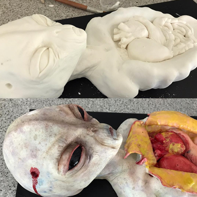 These Hyperrealistic Cakes Will Give You Nightmares 🍰👽😷