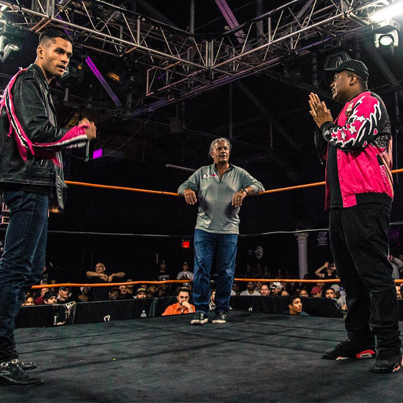 Battle Rapper Spits Some Bars At Pro Wrestler With Bret Hart As The Host 💀🎤🔥