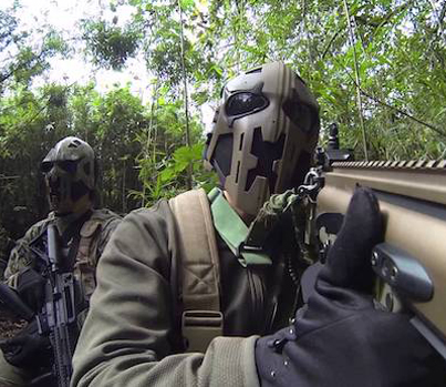 British Special Forces Try Out 'Boba Fett' Bulletproof Helmets
