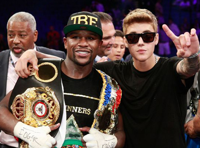 """Floyd Mayweather Calls Justin Bieber A """"Traitor"""" Over IG Diss"""