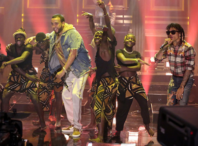 French Montana & Swae Lee Perform 'Unforgettable' On 'Tonight Show' 🔥🔥🔥