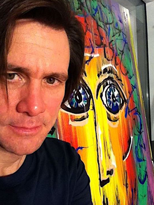 Jim Carrey Debuts His Artwork In New Documentary 'I Needed Color' 🎨