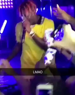 Lil Yachty Fell On Stage And Tried To Play It Off 😭😭😭😭