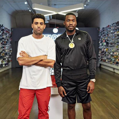 Meek Mill Goes Sneaker Shopping With Complex 😎✌⭐