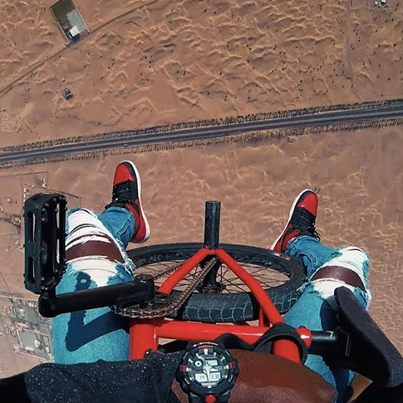 Pro BMX Rider Goes Skydiving In The Desert & Enjoys The Luxuries of Dubai 🔥🙌