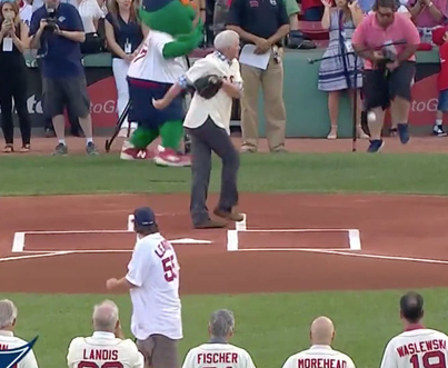 Red Sox Cameraman Takes First Pitch Right In The F**king Nuts ⚾😭💀