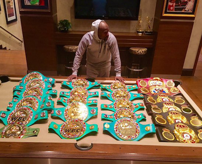 The Stunning Boxer Career Of Floyd Money Mayweather 💪💯