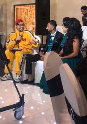 Who Needs Malkit Singh To Perform At The Wedding When You Have Ali G 👍😂😂
