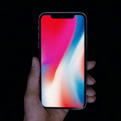 APPLE UNVEILS THE NEW iPHONE X