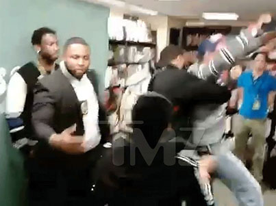 Fur Activists Tried To Run Up On Gucci Mane During A Book Signing 😵😵😵