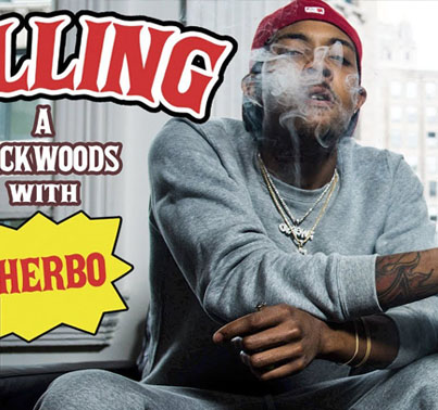 How To Roll Backwoods With G Herbo 👽👽💯