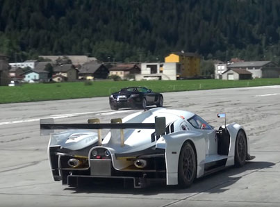Ridiculous Selection Of Hypercars On An Empty Runway 💸🍾💰💵