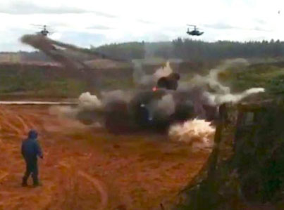 Russian Military Accidentally Fires Rockets At Civilians During War Games 🚀🚀🚀