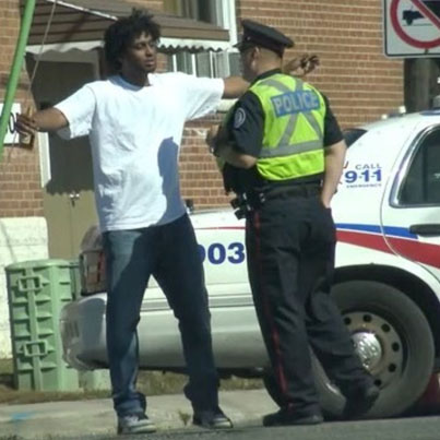 Toronto Lit AF: Buddy Tries To Turn Up With The Police 😩😂