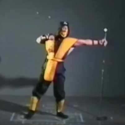 Classic Motion-Capture Footage From The First 'Mortal Kombat' Video Game 😱😱😱